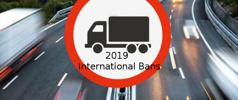 International Bans 2019